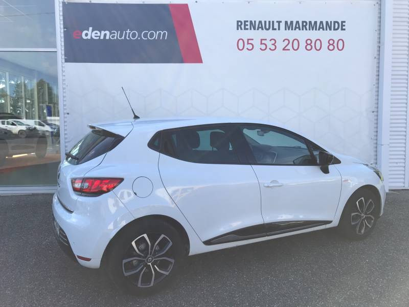 Renault Clio IV dCi 90 Energy Limited EDC Blanc occasion à Sainte-Bazeille - photo n°2