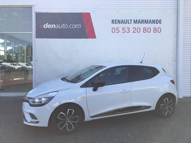 Renault Clio IV dCi 90 Energy Limited EDC Blanc occasion à Sainte-Bazeille