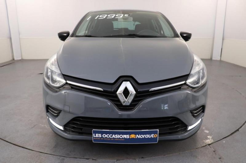 Renault Clio IV dCi 90 Energy Limited Gris occasion à Mérignac - photo n°2