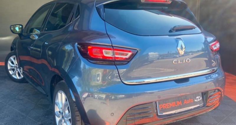 Renault Clio IV Phase 2 5 portes 1.5 dCi FAP EDC 90 cv Boîte auto Gris occasion à Francin - photo n°4