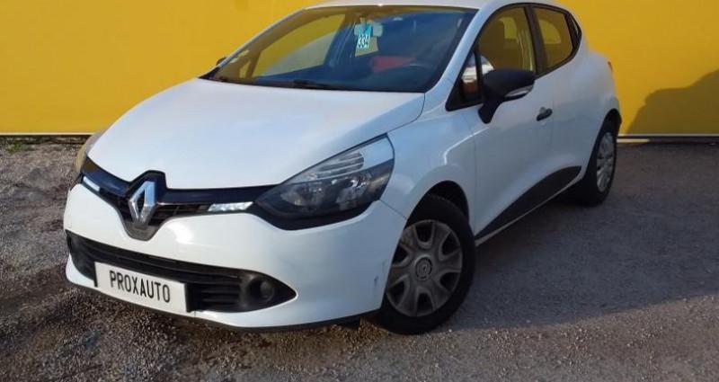 Renault Clio IV SOCIETE DCI 75 ECO2 AIR Blanc occasion à Fontenay-le-vicomte