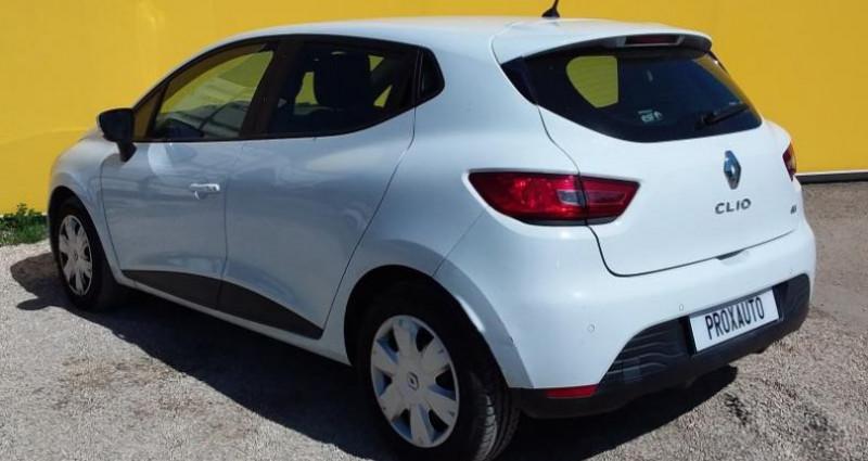 Renault Clio IV SOCIETE DCI 75 ENERGY AIR MEDIANAV Blanc occasion à Fontenay-le-vicomte - photo n°6