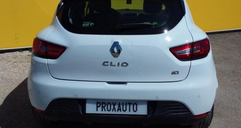 Renault Clio IV SOCIETE DCI 75 ENERGY AIR MEDIANAV Blanc occasion à Fontenay-le-vicomte - photo n°5