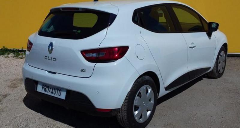 Renault Clio IV SOCIETE DCI 75 ENERGY AIR MEDIANAV Blanc occasion à Fontenay-le-vicomte - photo n°4