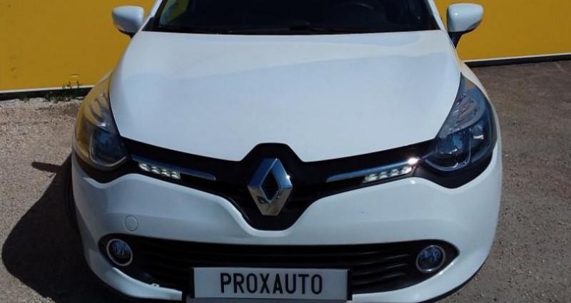 Renault Clio IV SOCIETE DCI 75 ENERGY AIR MEDIANAV Blanc occasion à Fontenay-le-vicomte - photo n°2