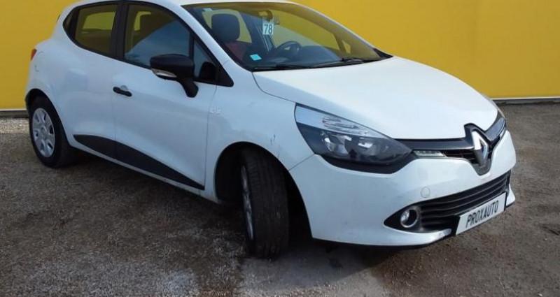 Renault Clio IV SOCIETE DCI 75 ENERGY AIR MEDIANAV Blanc occasion à Fontenay-le-vicomte - photo n°3