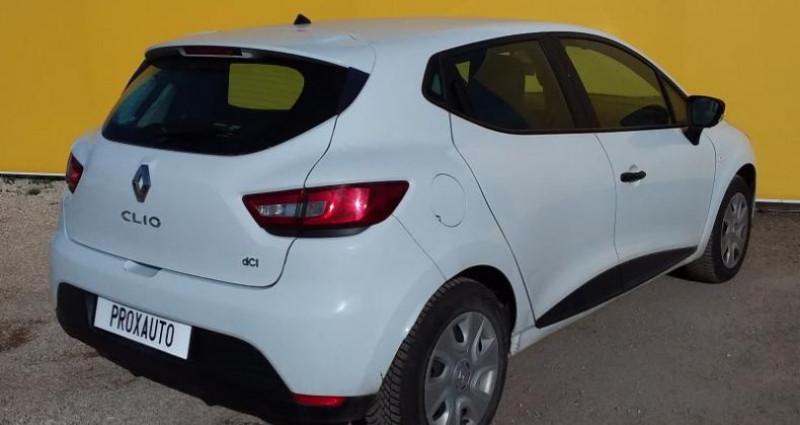 Renault Clio IV SOCIETE DCI 75 ENERGY AIR Blanc occasion à Fontenay-le-vicomte - photo n°4