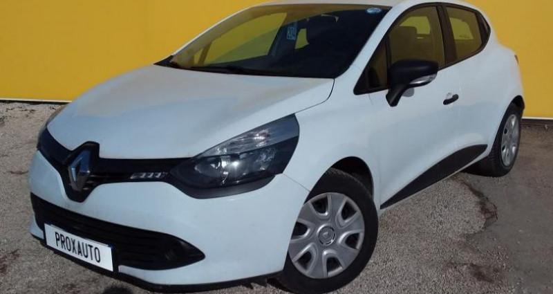 Renault Clio IV SOCIETE DCI 75 ENERGY AIR Blanc occasion à Fontenay-le-vicomte