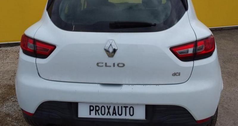 Renault Clio IV SOCIETE DCI 75 ENERGY AIR Blanc occasion à Fontenay-le-vicomte - photo n°5