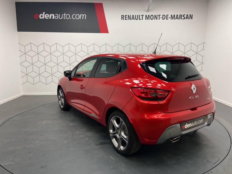 Renault Clio IV TCe 120 Intens EDC Rouge occasion à Mont de Marsan - photo n°2