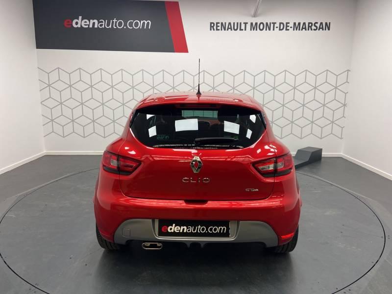 Renault Clio IV TCe 120 Intens EDC Rouge occasion à Mont de Marsan - photo n°6