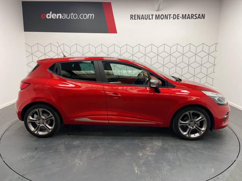 Renault Clio IV TCe 120 Intens EDC Rouge occasion à Mont de Marsan - photo n°4
