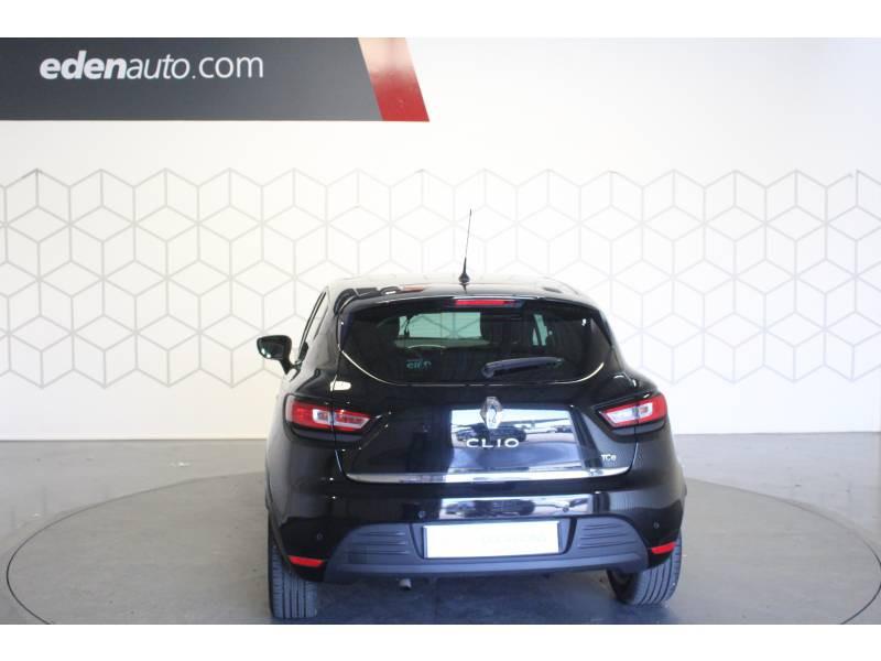 Renault Clio IV TCe 90 Energy Intens Noir occasion à TARBES - photo n°4