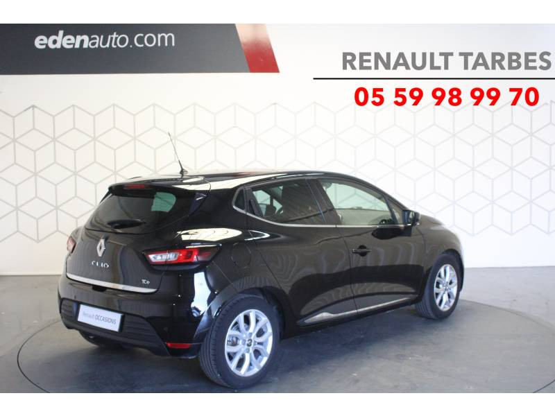 Renault Clio IV TCe 90 Energy Intens Noir occasion à TARBES - photo n°5