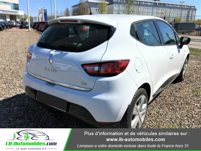 Renault Clio TCe 90 Blanc occasion à Beaupuy - photo n°3