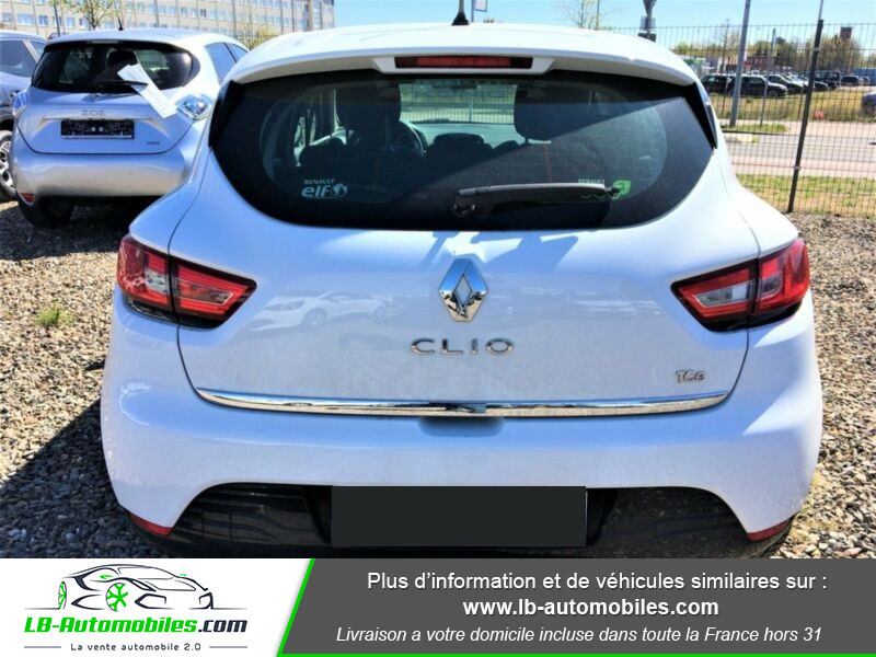 Renault Clio TCe 90 Blanc occasion à Beaupuy - photo n°7