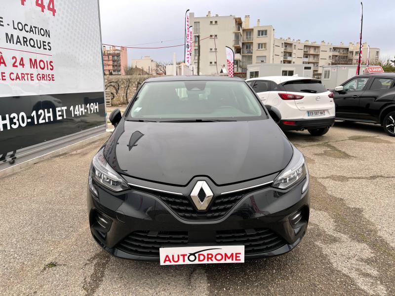 Renault Clio V 1.0 TCe 100ch Zen (Clio 5) - 8 000 Kms Noir occasion à Marseille 10 - photo n°2