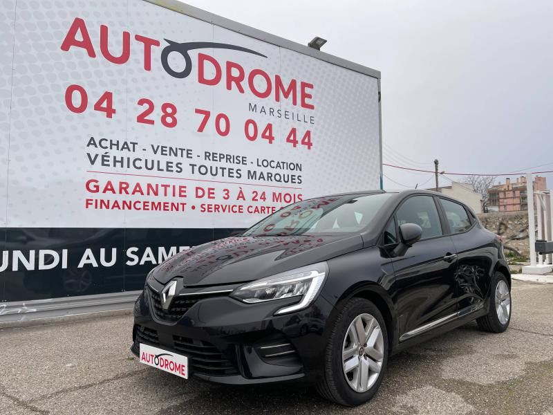Renault Clio V 1.0 TCe 100ch Zen (Clio 5) - 8 000 Kms Noir occasion à Marseille 10