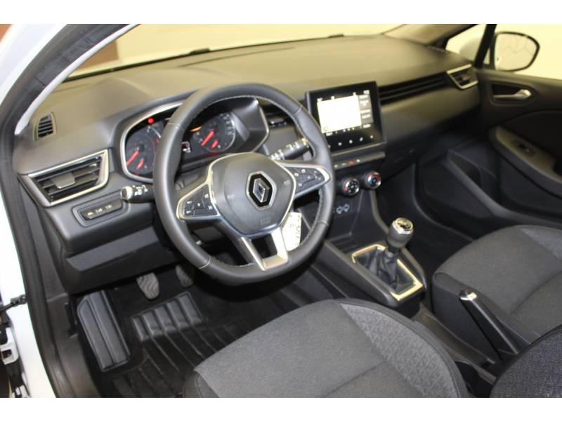 Renault Clio V Blue dCi 85 Business Blanc occasion à Orthez - photo n°2