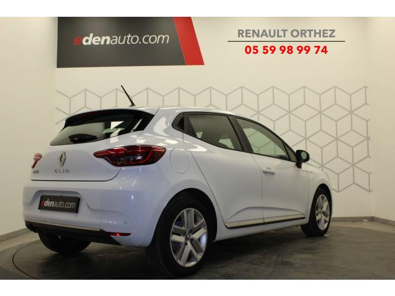 Renault Clio V Blue dCi 85 Business Blanc occasion à Orthez - photo n°3