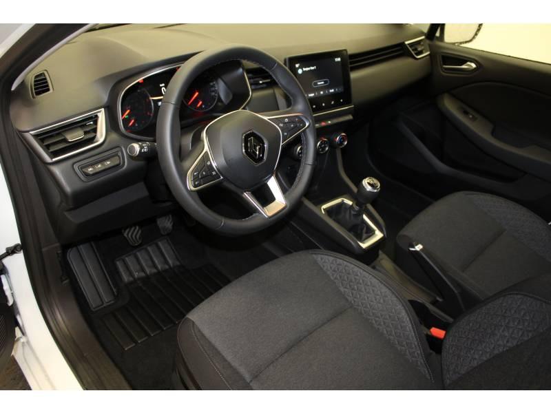 Renault Clio V Blue dCi 85 Zen Blanc occasion à Orthez - photo n°2