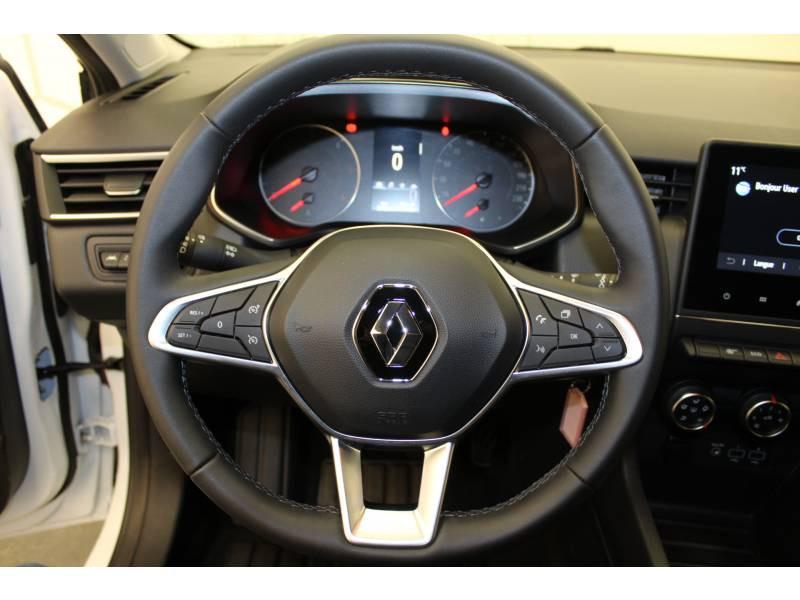 Renault Clio V Blue dCi 85 Zen Blanc occasion à Orthez - photo n°8