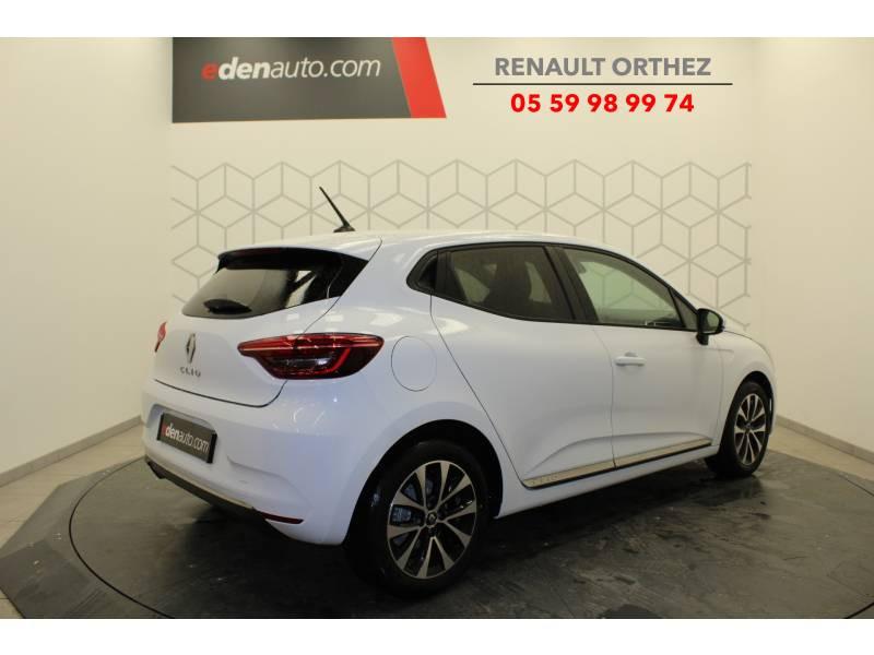 Renault Clio V Blue dCi 85 Zen Blanc occasion à Orthez - photo n°3