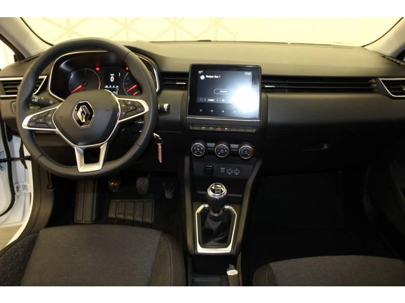 Renault Clio V Blue dCi 85 Zen Blanc occasion à Orthez - photo n°7