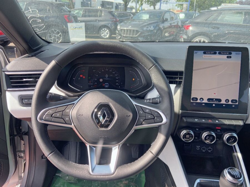 Renault Clio V BlueDCi 115 BV6 INTENS GPS 9.3 Caméra Gris occasion à Montauban - photo n°12