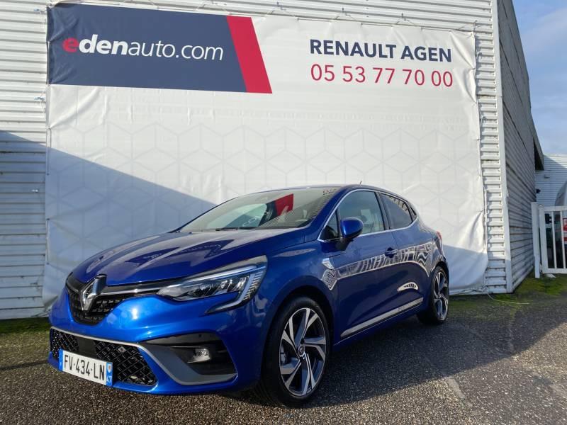 Renault Clio V E-Tech 140 RS Line Bleu occasion à Agen