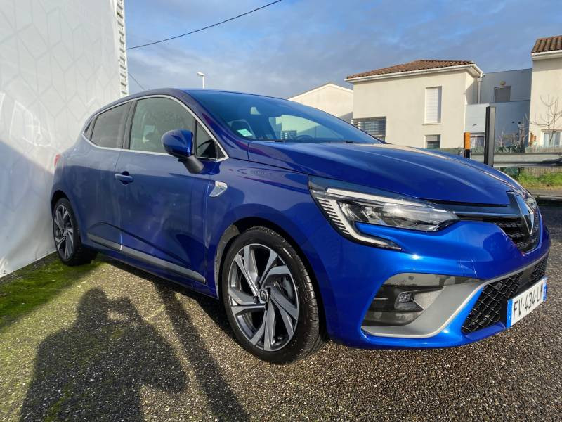 Renault Clio V E-Tech 140 RS Line Bleu occasion à Agen - photo n°5