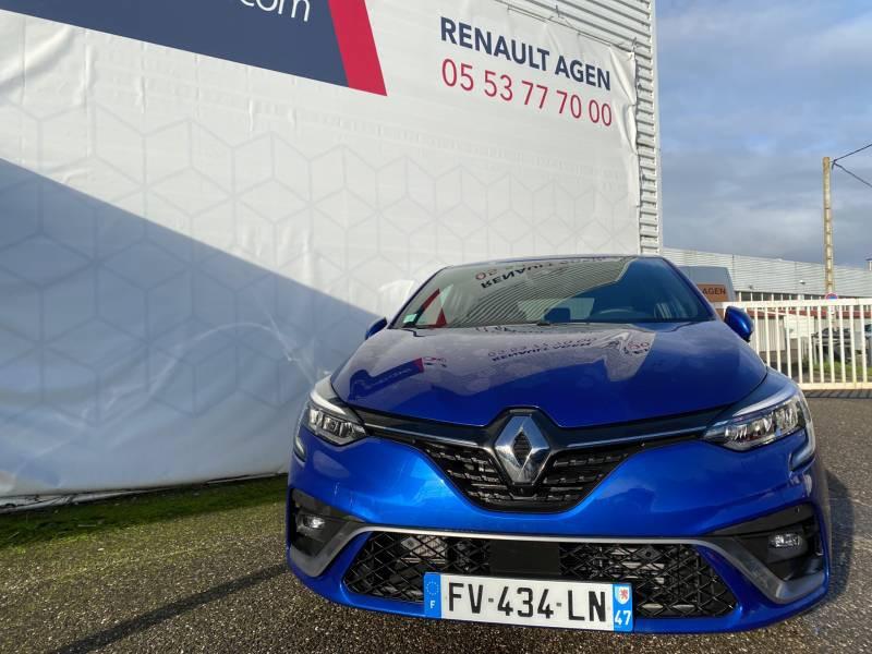 Renault Clio V E-Tech 140 RS Line Bleu occasion à Agen - photo n°2