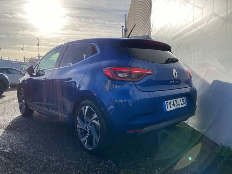 Renault Clio V E-Tech 140 RS Line Bleu occasion à Agen - photo n°4