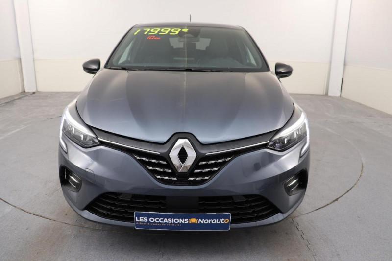 Renault Clio V INTENS TCE 90 + PACK LOOK NOIR Gris occasion à La Garde - photo n°2