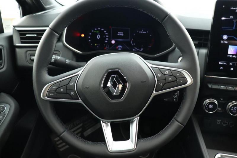 Renault Clio V INTENS TCE 90 + PACK LOOK NOIR Gris occasion à La Garde - photo n°10