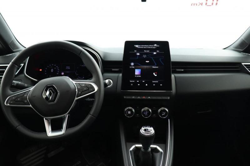 Renault Clio V INTENS TCE 90 + PACK LOOK NOIR Gris occasion à La Garde - photo n°4