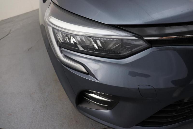 Renault Clio V INTENS TCE 90 + PACK LOOK NOIR Gris occasion à La Garde - photo n°8
