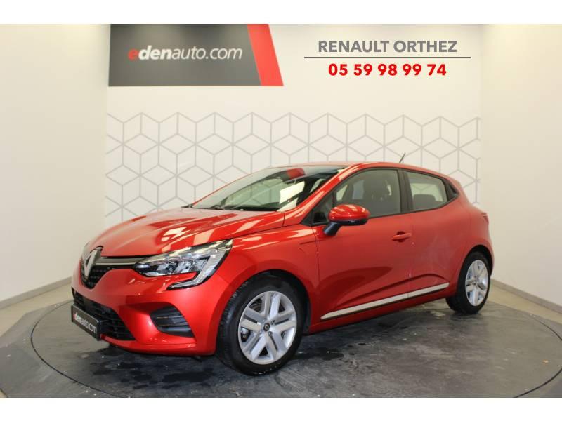Renault Clio V TCe 100 Business Rouge occasion à Orthez