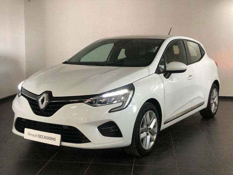 Renault Clio V TCe 100 Business Blanc occasion à FLERS
