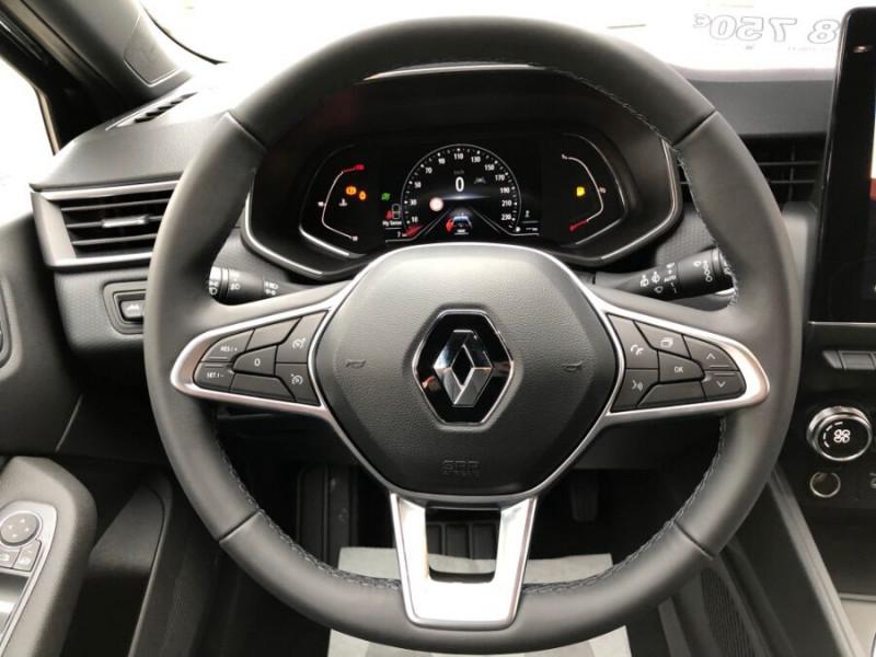 Renault Clio V TCe 100 INTENS GPS 9.3 Caméra Noir occasion à Montauban - photo n°17