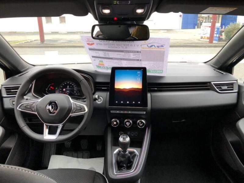 Renault Clio V TCe 100 INTENS GPS 9.3 Caméra Noir occasion à Montauban - photo n°18