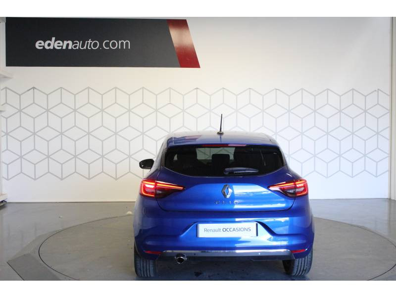 Renault Clio V TCe 100 Intens Bleu occasion à TARBES - photo n°3