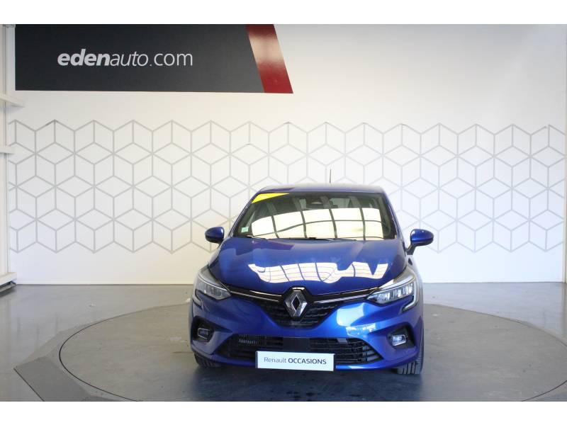 Renault Clio V TCe 100 Intens Bleu occasion à TARBES