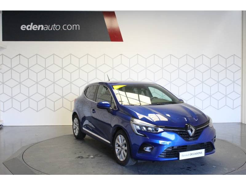Renault Clio V TCe 100 Intens Bleu occasion à TARBES - photo n°9