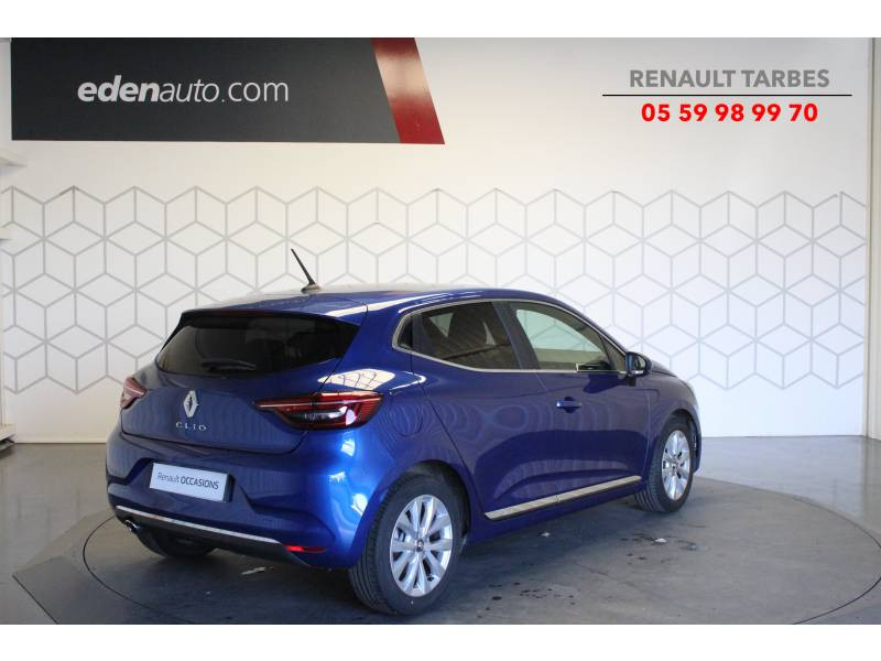 Renault Clio V TCe 100 Intens Bleu occasion à TARBES - photo n°4