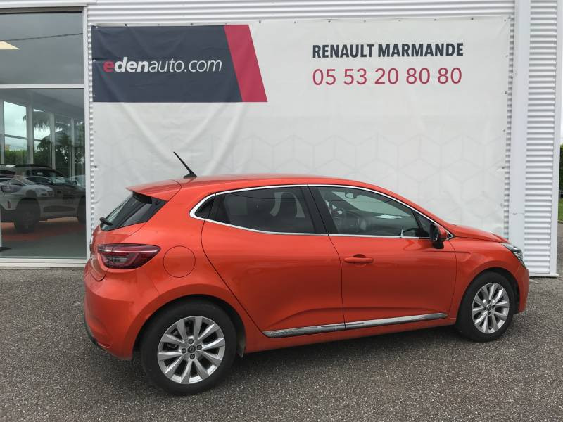 Renault Clio V TCe 100 Intens Orange occasion à Sainte-Bazeille - photo n°2