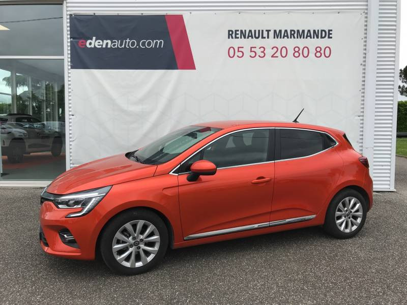 Renault Clio V TCe 100 Intens Orange occasion à Sainte-Bazeille