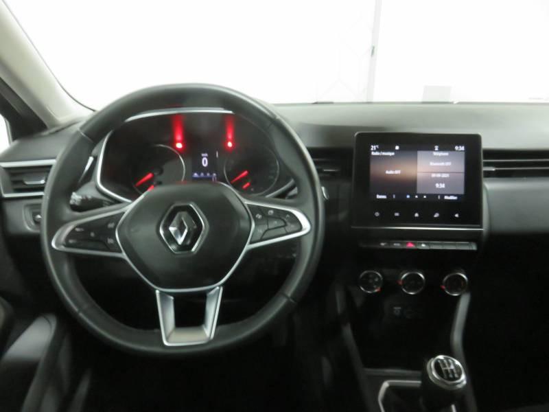 Renault Clio V TCe 100 Zen Gris occasion à BAYONNE - photo n°9