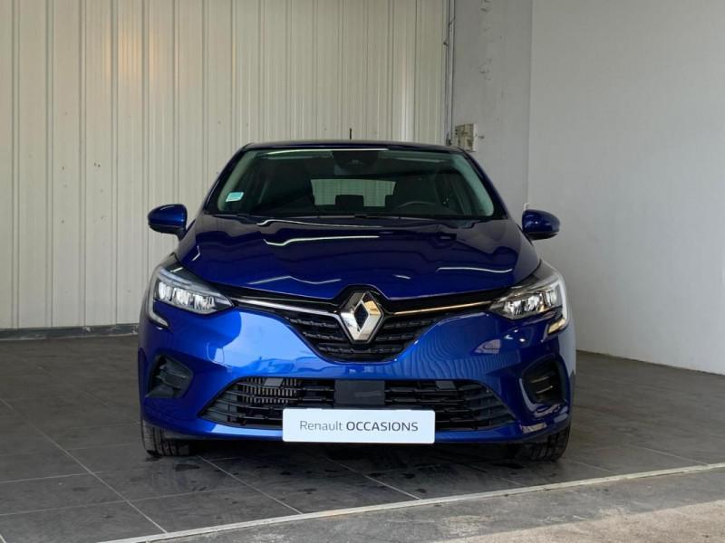 Renault Clio V TCe 100 Zen Bleu occasion à CONCARNEAU - photo n°11