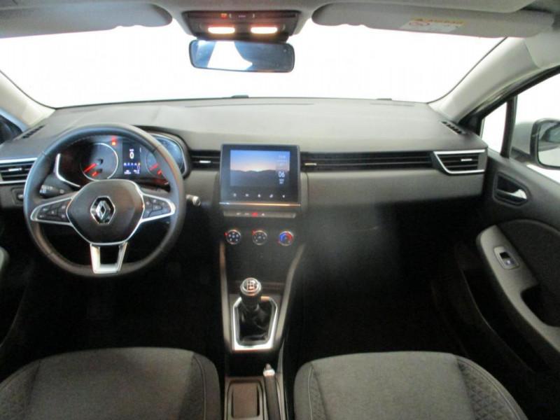 Renault Clio V TCe 100 Zen Gris occasion à CHERBOURG-EN-COTENTIN - photo n°7